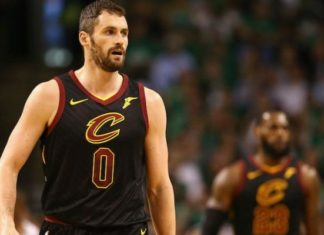Kevin Love Cavs and LeBron James