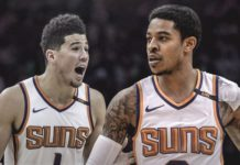 Devin Booker and Tyler Ulis Suns