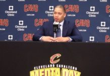 Tyronn Lue Cavs Media Day