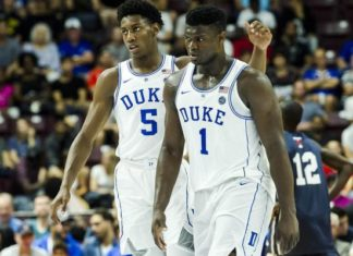R.J. Barrett and Zion Williamson