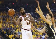 Tristan Thompson and Klay Thompson