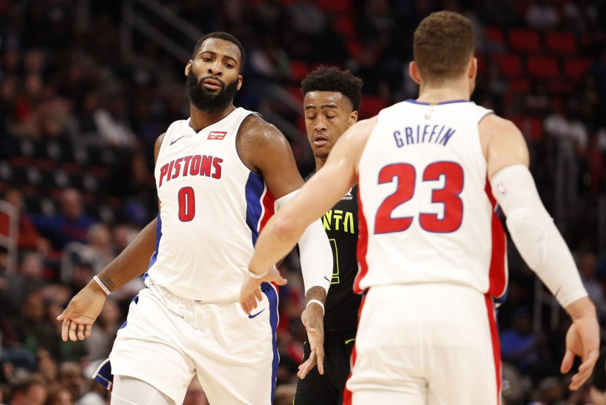 Andre Drummond and Blake Griffin
